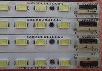 1 10 Pairs/lot 55 LJ64 02644A SLS55_5630_120_1D_A_REV1/1D_B_REV1 For Sony Led Backlight Strip 70LED 620MM