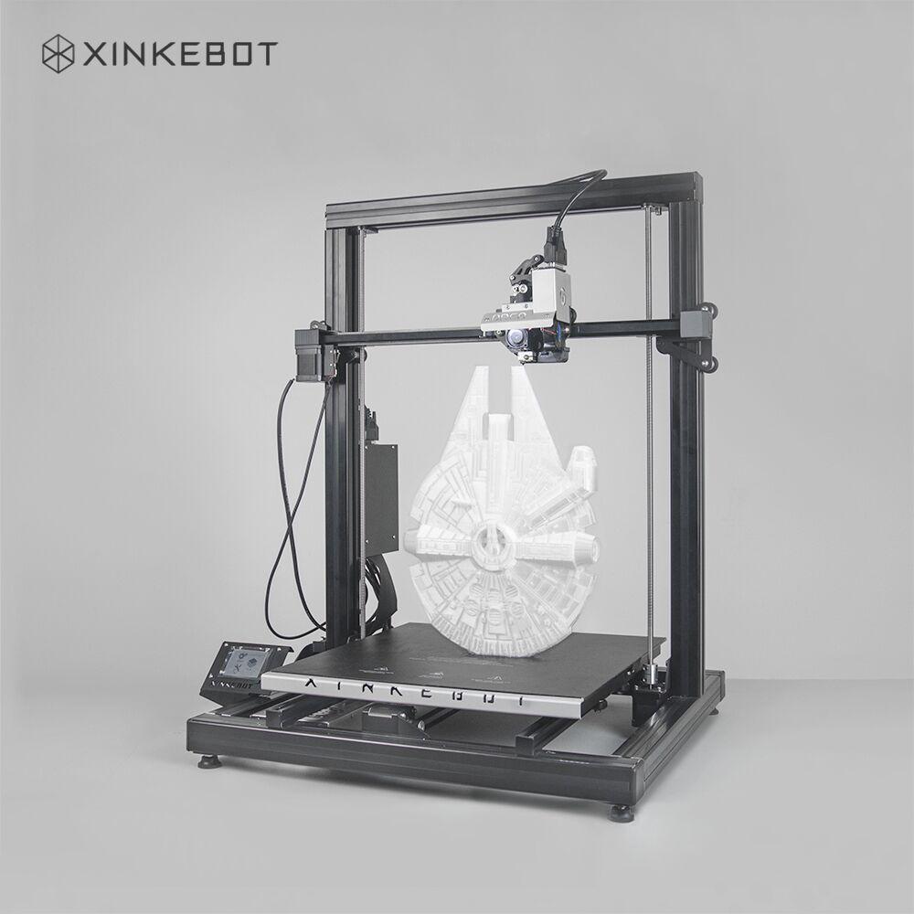 large 3d printer dual extruder auto leveling xinkebot orca2 cygnus 400 x 400 x 500 build volume. Black Bedroom Furniture Sets. Home Design Ideas