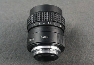 Image 4 - 25 ミリメートル F1.4 CCTV のテレビレンズ + C マウントソニー E: NEX3 NEX C3 A6000 A6500 NEX 5T NEX6 NEX 5 NEX 5N NEX 5R NEX7 NEX F3