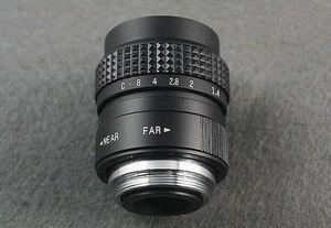 Image 4 - 25mm F1.4 CCTV TV lens+C Mount to Sony E:NEX3 NEX C3 A6000 A6500 NEX 5T NEX6 NEX 5 NEX 5N NEX 5R NEX7 NEX F3