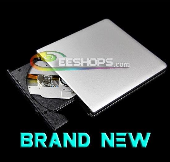 New External USB 3.0 Blu-ray Burner for Pioneer BDR-TD05 Dual Layer 6X 3D Bluray Writer 4X BDXL DVD Optical Drive Aluminum Case