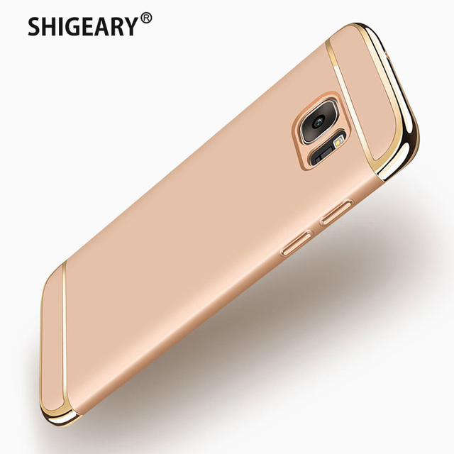 more photos c8439 e250d US $3.49 30% OFF|Luxury Cases for Samsung Galaxy J7 Max J7max Case Cover  for Samsung J7 Max Case Coque Capa Fundas 5.7 inch Hard PC Phone Shell-in  ...