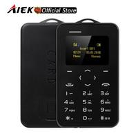 New Mini Phone AIEK AEKU C6 Color Screen PK M5 Cell Phone Ultra Thin Children Mobile