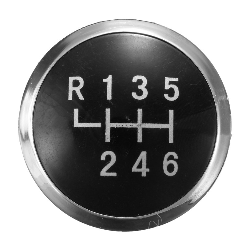 Auto Parts Coupons >> 6 Speed Gear Knob Badge Emblem Cap Knob Cover For VW T5 Transporter 2003 2010-in Gear Shift Knob ...