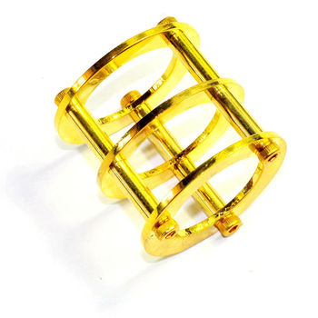 Wholesale and retail 10pc Gold Tube Guard Protector Cover PreAmp 12ax7 12au7 6922 5687 ECC audio DIY free shipping