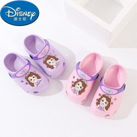 bonito dos desenhos animados criancas sapatos respiravel sandalias