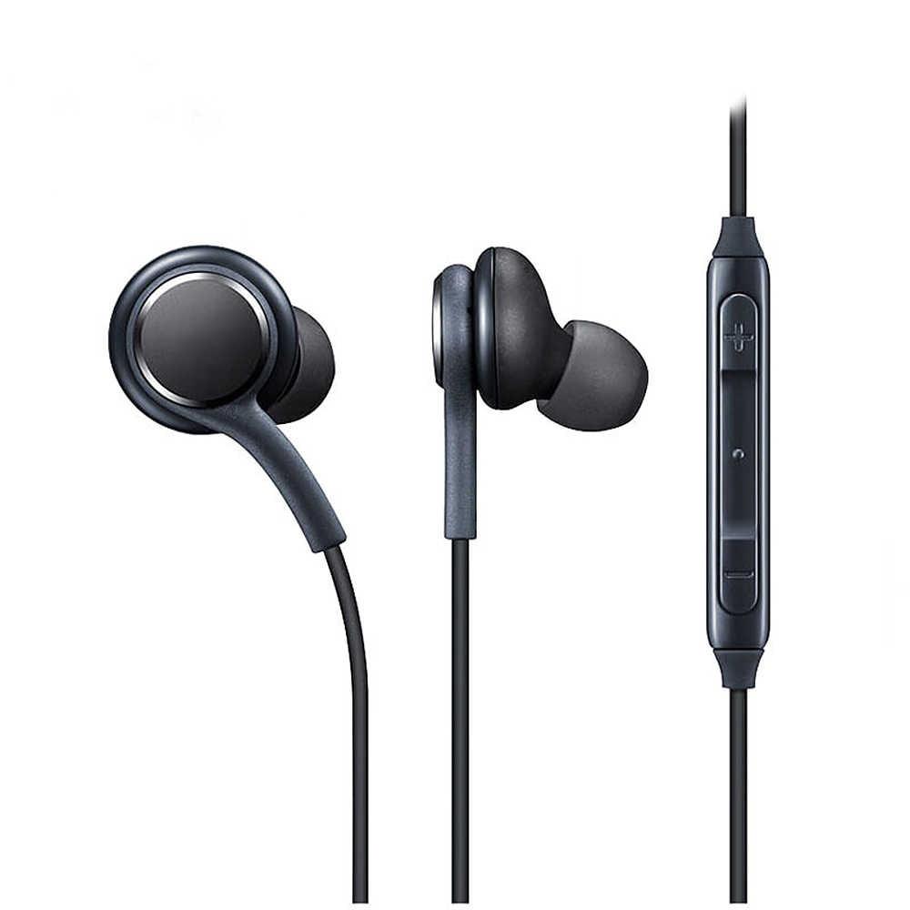في الأذن ستيريو سماعة سماعة 3.5 مللي متر مع Mic سماعات للآي فون ، سامسونج ، هواوي ، Xiaomi وأكثر Fone دي Ouvido