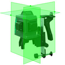 LETER  laser Lines 3D green Laser Level green Laser Beam Line цена 2017