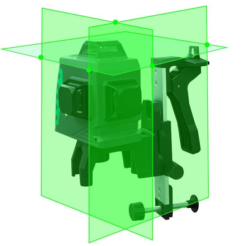 LETER linii laserowych 3D zielony laser Level zielony Laser wiązka laserowa
