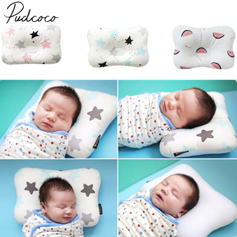 2018 Brand New Toddler Baby Infant Newborn Sleep Positioner Support Pillow Cushion Prevent Flat Head Baby Pillow