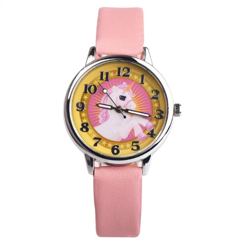 Watches 2019 Fashion Cute Girls Animal Unicorn Design Children Watch Quartz Jelly Kids Clock Boys Students Wristwatches Relogio Clock Fine Quality