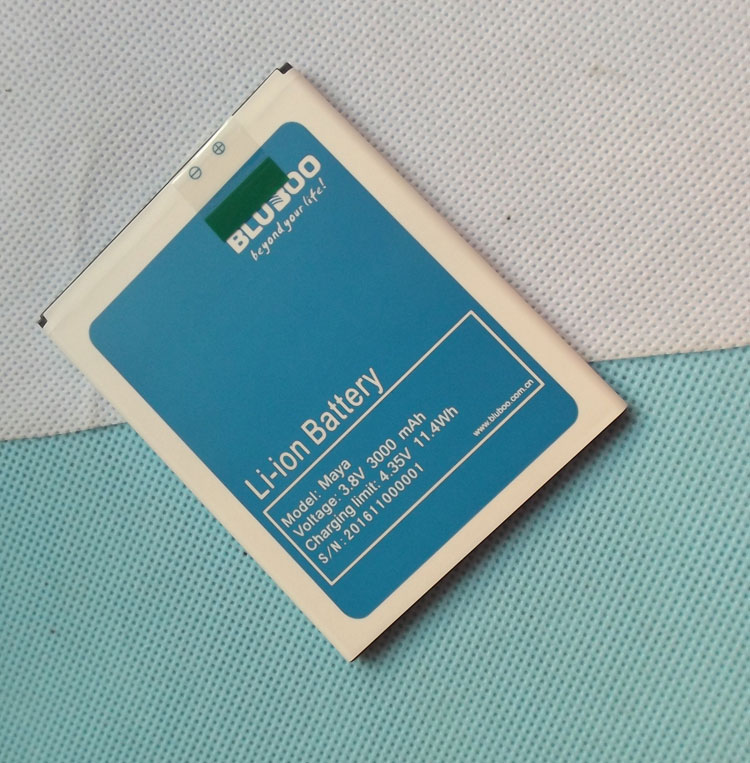New Original Maya Battery For 5.5inch Bluboo maya Smart Phone FREE SHIPPING with Tracking Number
