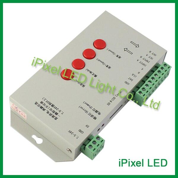 Natal do diodo emissor de luz controlador de pixel controlador t200k t500k t8000c t-1000 controlador com cartão sd