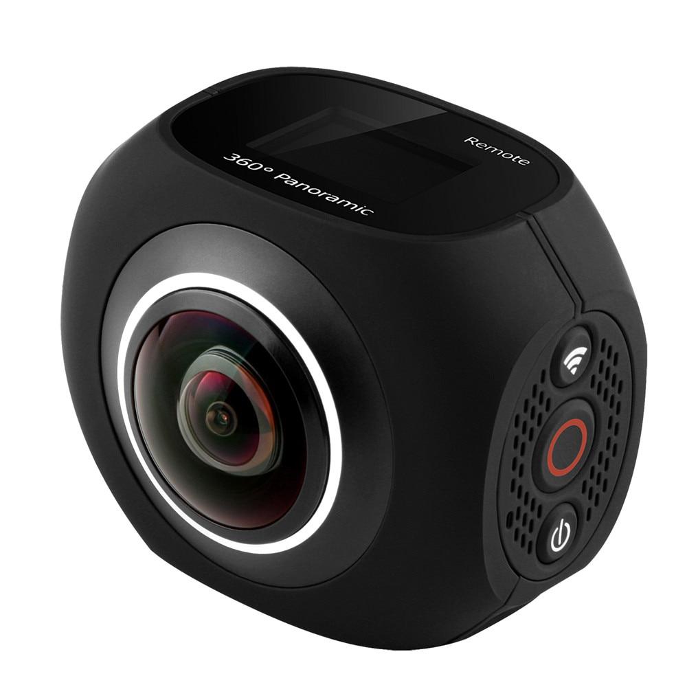 PANO360 Gradi di Movimento All'aperto 4 k Macchina Fotografica Panoramica VR HD con Doppio Obiettivo 720 Gradi Ip 190 Gradi Ampio Angolo di Smart piccolo di Sicurezza Camer