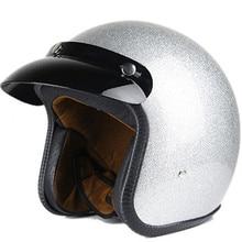 Vega Vintage Motorcycle Helmet for Men & Women