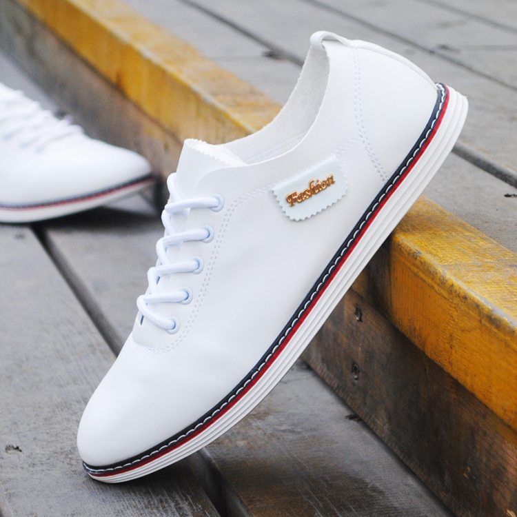 Nice New Summer Men Shoes White Casual