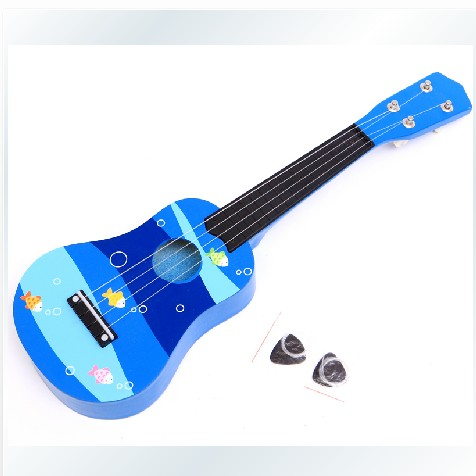 Wooden Child Small Guitar Child Baby Musical Instruments Guitar Toy