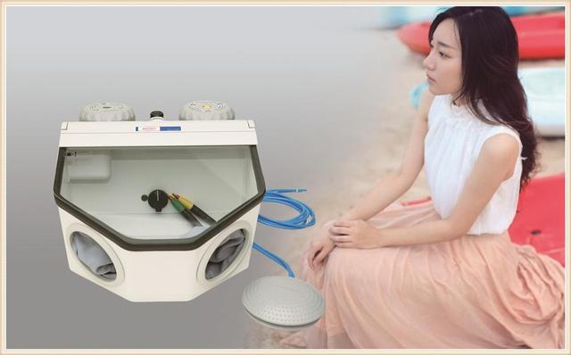 Portable Sandblasting Machine Jewelry Sandblasting Machine Electric Sandblaster