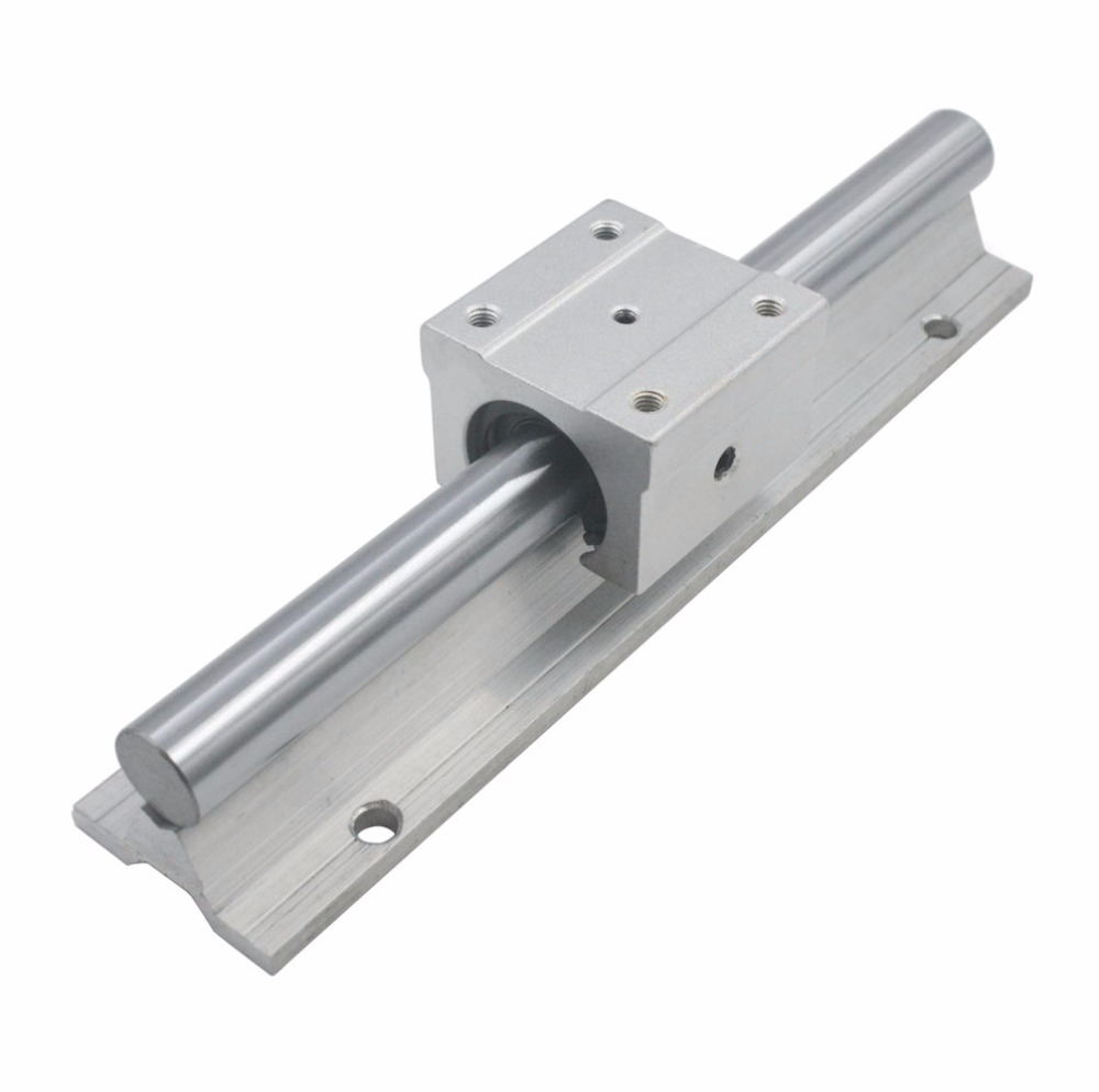 SBR16UU Open Roller Bearing Slide Block SBR16 Linear Bearing 200/300/400/500mm Rail Guide with 16mm Dia Shaft 2pcs 1 piece bu3328 6 6 33 27 5 29 5 mm z25 guide rail u groove plastic roller embedded dual bearing