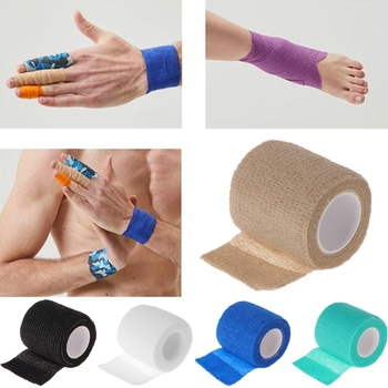 1x Disposable Tattoo Self-adhesive Elastic Bandage Grip Cover Wrap Sport Tape 1