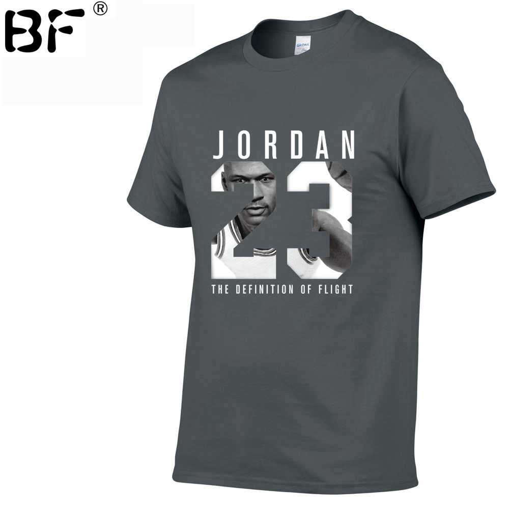 05145904510 ... 2019 New Jordan 23 Brand Mens T-Shirts Summer 100% cotton Short Sleeve T  ...
