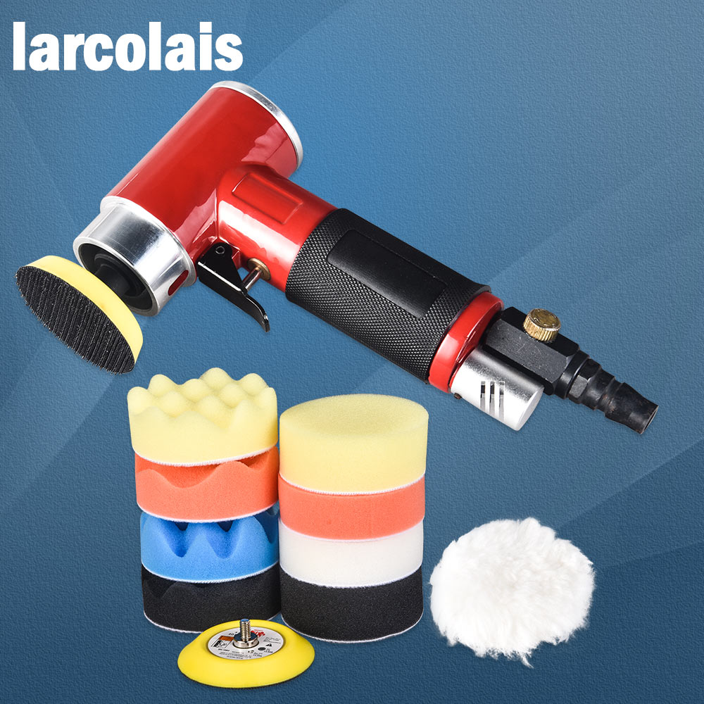 2 3 Professional High Performance Polisher Air Palm Air Dual Action Speed Controlled Palm Sander