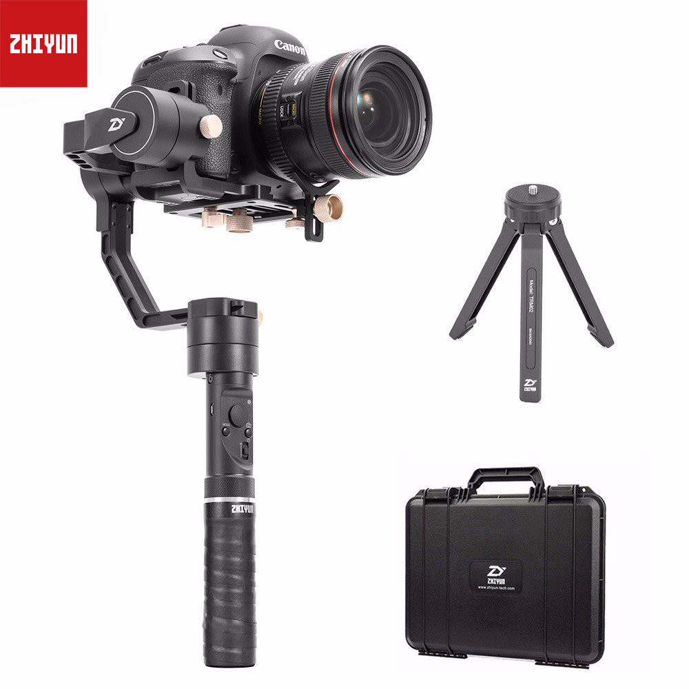Zhiyun Crane Plus 3 Axis 3-Axis Gimbal Handled Stabilizer for All Models of DSLR Mirrorless Canon 5D2/5D3/5D4 MINI DSLR Camera цена