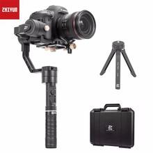 Zhiyun Crane Plus 3 Axis 3-Axis Gimbal Hanterad Stabilizer för alla modeller av DSLR Spegelfri Canon 5D2 / 5D3 / 5D4 MINI DSLR-kamera