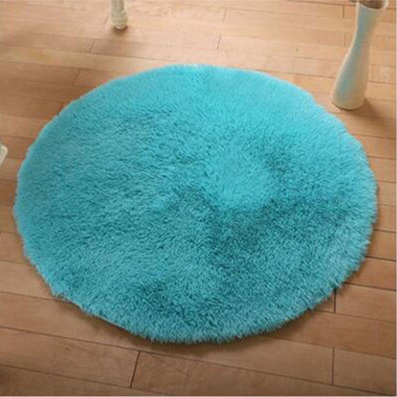 free shipping antislip multi colors 160cm 35cm soft thicken big round floor carpets