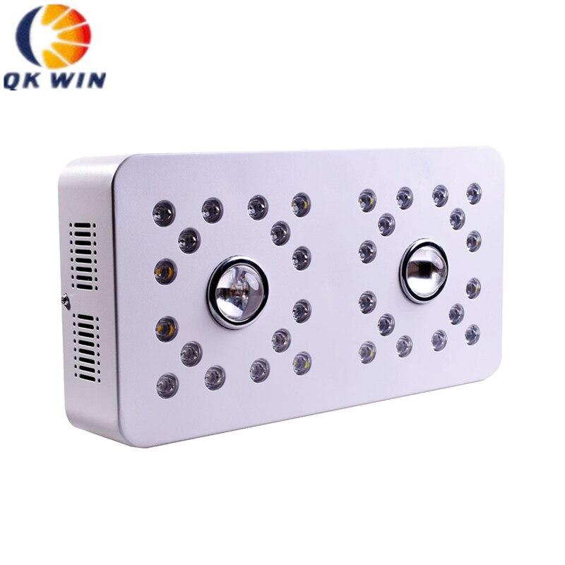 Qkwin Dimmable COB LED ÉLÈVENT LA LUMIÈRE 1000 W avec Cree 3590 Led et 32 pcs spectre Complet avec double LENTILLE à forte valeur par