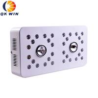 Qkwin Dimmable COB LED GROW LIGHT 1000W with Cree 3590 Leds and 32pcs Full spectrum with dual LENS for high par value