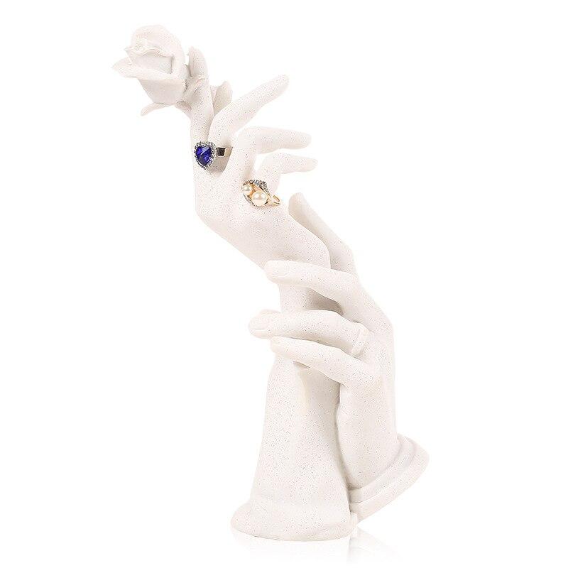 Résine anneau main moule bijoux présentoir bijoux présentoir support Bracelet collier montrant support