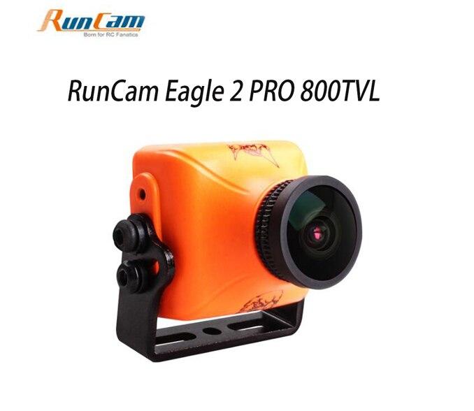 RunCam Aigle 2 PRO 800TVL CMOS 2.1mm/2.5mm 16:9/4:3 NTSC/PAL Commutable Super WDR FPV Caméra Faible Latence pour Quadcopter