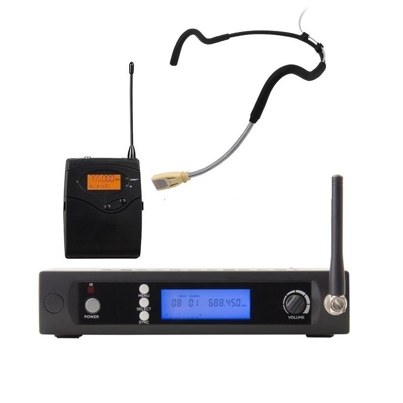 Bolymic UHF Wireless microphones Headworn Condenser Microphone Fitness headset Professional Microphone Wireless