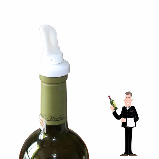 Wholesale 3Pcs Reusable Silicone Wine Beer Soda Bottle Stopper
