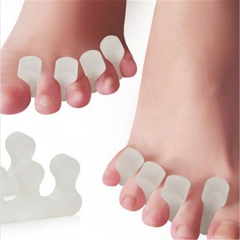 Boleh diguna semula Silicone Toe Separator Stretcher Lelaki Wanita - Penjagaan kesihatan - Foto 1