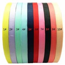 30pcs/lot 1cm Grosgrain Covered Ribbon Plastic Winding Hair Hoop DIY Hair Accessory Hair Bands Woman Girl Kids Basic Headbands