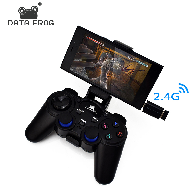 Dati Rana Controller Android 2.4G Wireless Gamepad Universale Joystick Per Smartphone Android Tablet PC Joystick