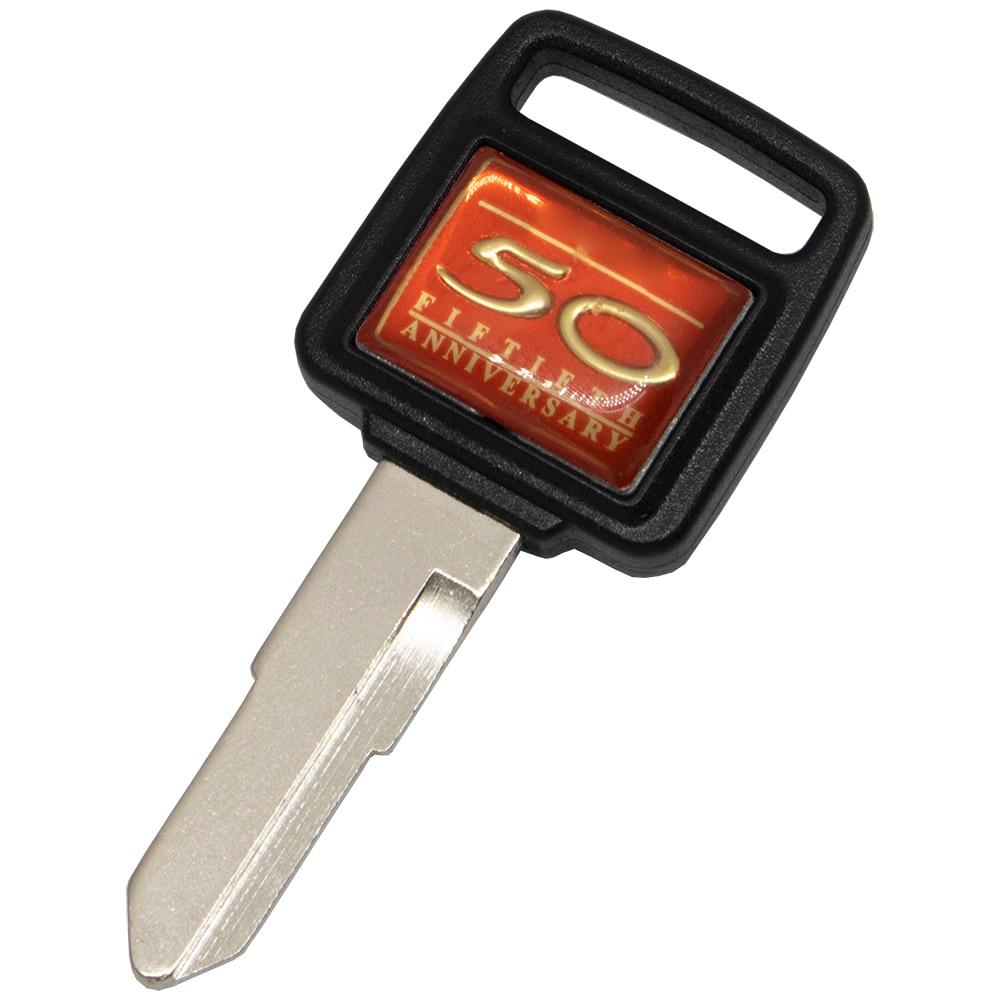 WhatsKey Uncut Blade Motorcycle Key For Honda Fiftieth Anniversary CB600 CB1000 VETC CB400