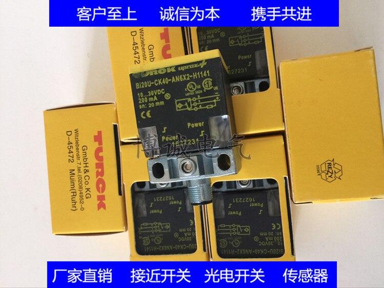 Spot high quality square proximity switch NI20U-CK40-AN6X2-H1141Spot high quality square proximity switch NI20U-CK40-AN6X2-H1141