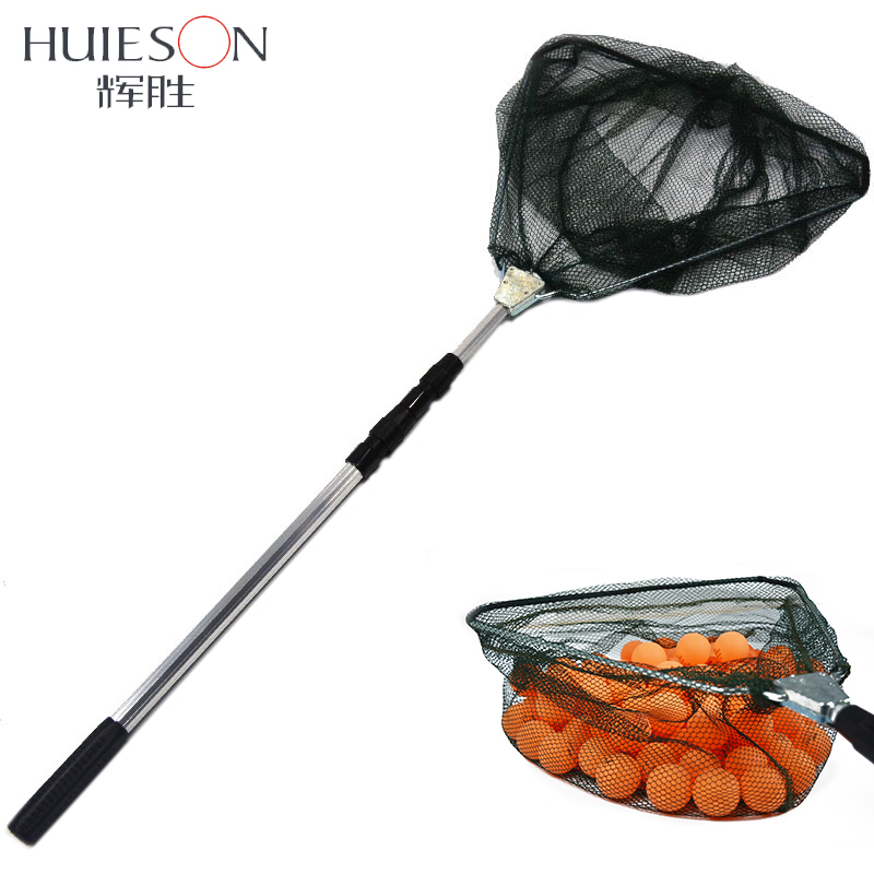Telescopic 3 Section Extendable Aluminium Pole Table Tennis Ball Picker Net For Ping Pong Ball Picking Table Tennis Accessories