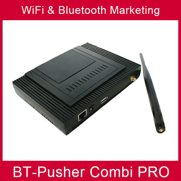 BT-Pusher wifi bluetooth mobiles proximity marketing device COMBI PRO(advertisement function) Advertising Light Boxes