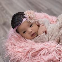 Newborn Photography Props Blankets Soft Long Fur Plush Baby Blanket Basket Stuffer Faux Fotografia Backdrop