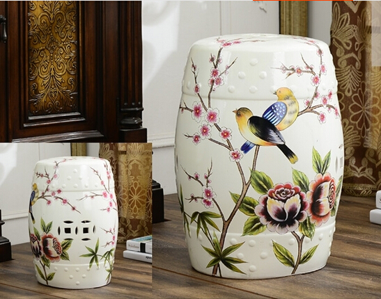 bedroom furniture chinese ceramic garden stool seats