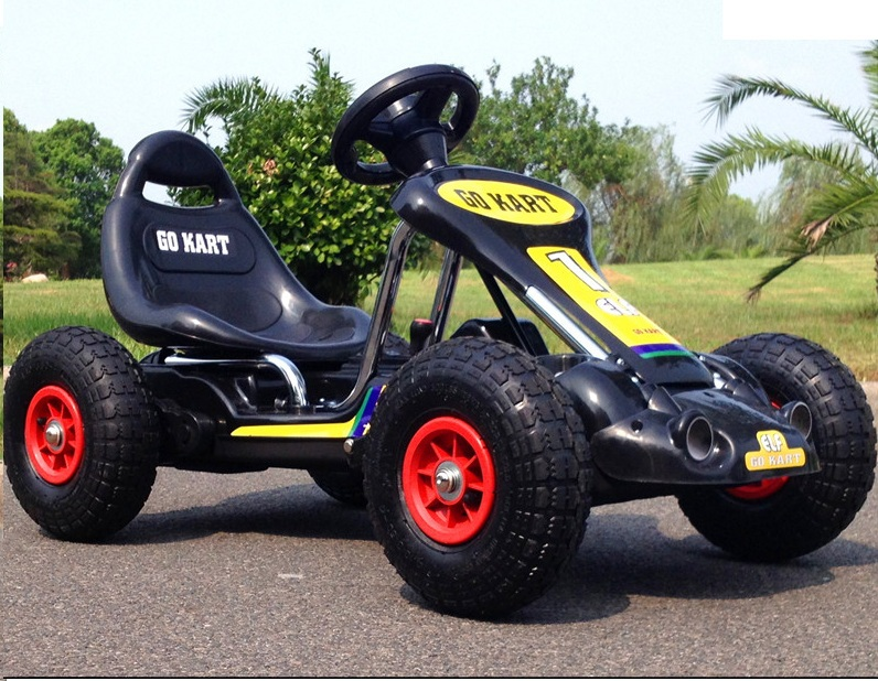 Electric Car For Kids Ride On With Remote Control Rc Kart