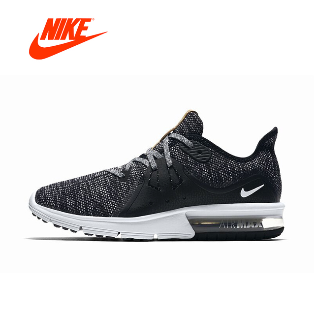 12fcb29ceb Original Official New Arrival NIKE AIR MAX SEQUENT 3 Women's Running Shoes  Slip-on Free Run Sports Fitness Walking