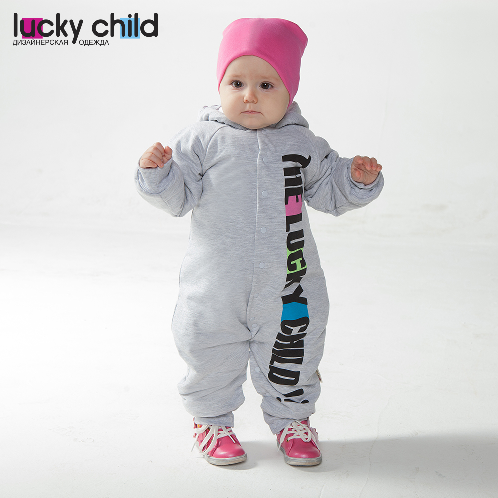 Jumpsuit Lucky Child for girls and boys 1-70 Sport Children's clothes kids Rompers for baby baby rompers winter thick climbing clothes newborn boys girls warm romper flannel cartoon hooded outwear