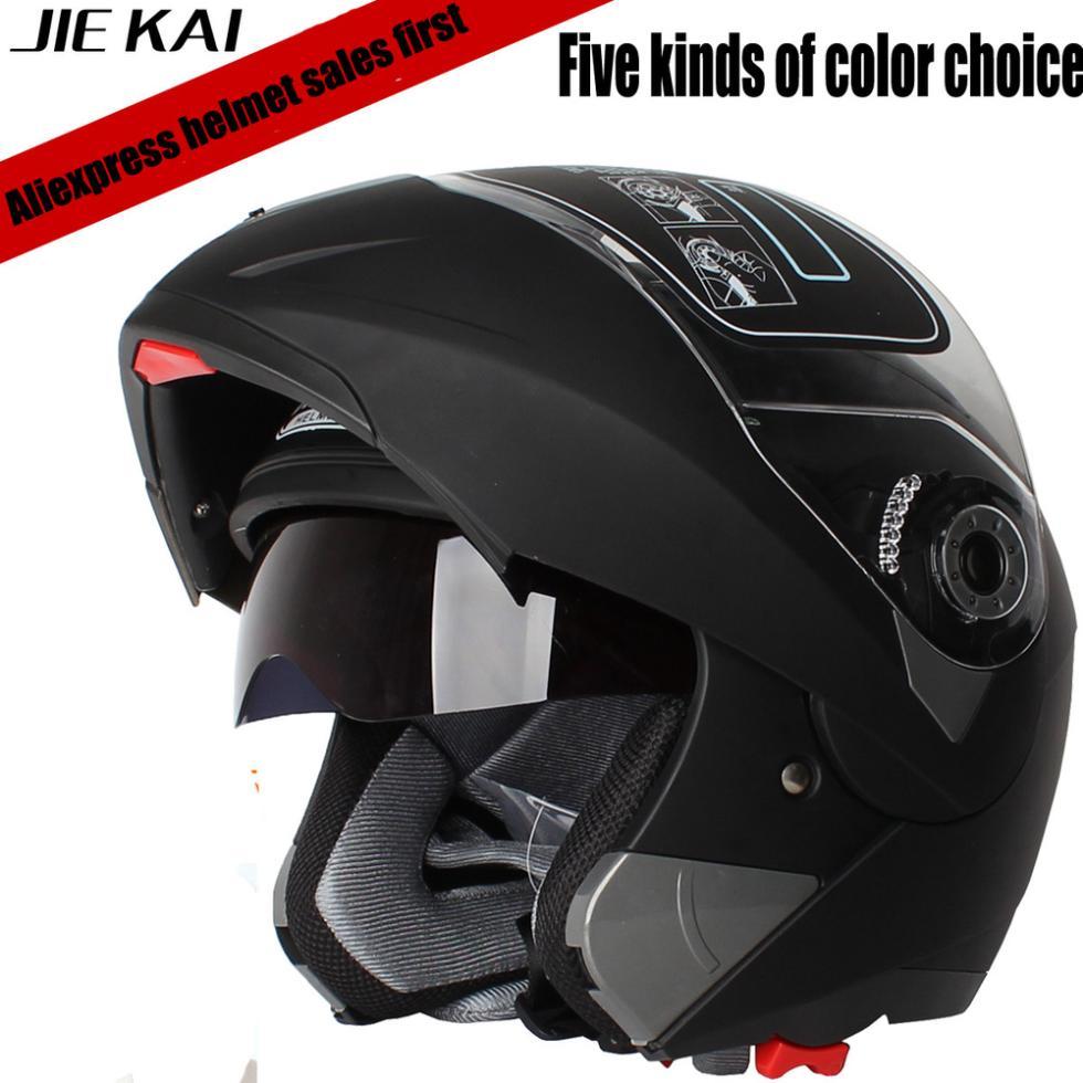 Motorcycle Helmet Full Face Flip Up Safety Motorcycle Flip Up Helmet Moto Helmet Motorbike with Inner Sun Visor Helmet