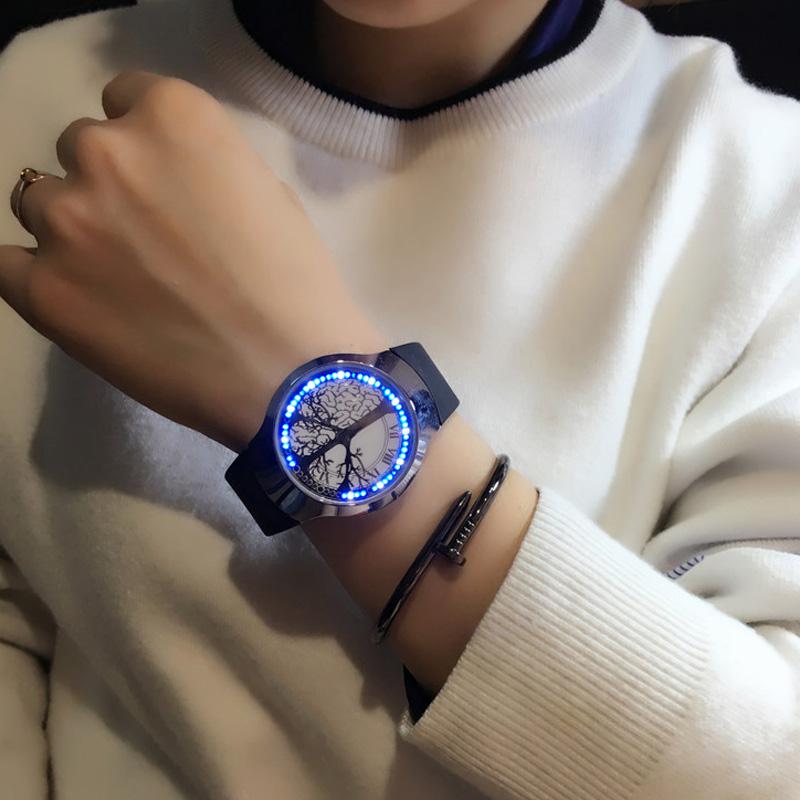 HTB1dyEJRpXXXXccXXXXq6xXFXXXj - Creative Minimalist Touch Screen Waterproof Watch