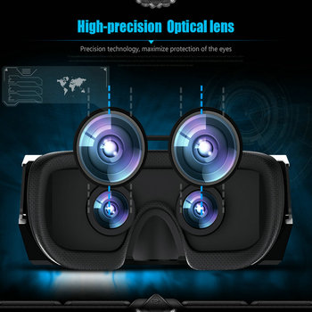 MEAFO VR Box 3.0 Pro Glasses HMD-518S WIFI Andriod 4.4 3D Video Movie Game Glasses Theater 1280P 80 6
